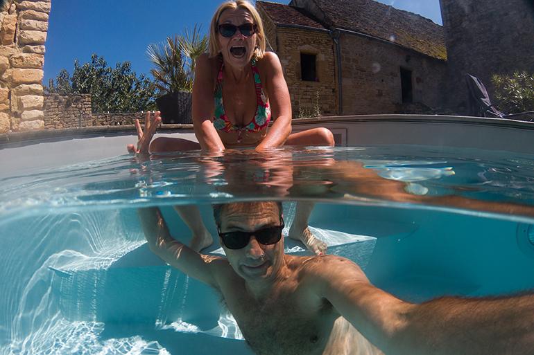Repos et piscine