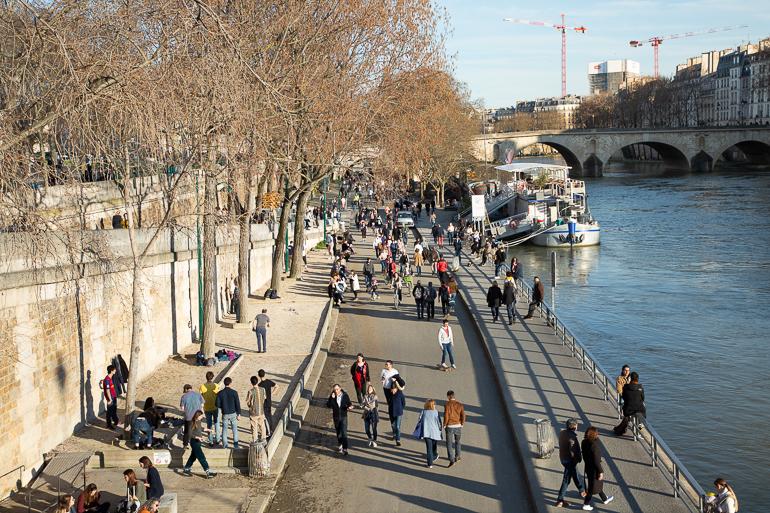 Paris le 15 mars 2020 juste avant le confinement