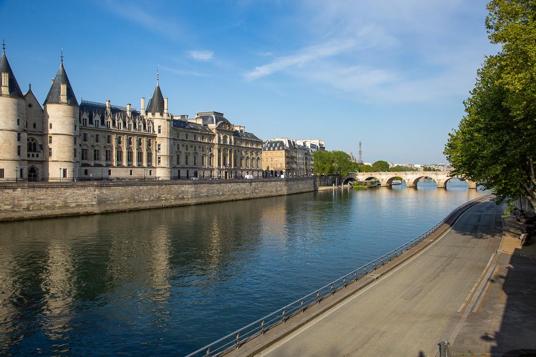 La Conciergerie et les quais de Seine